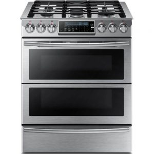 double oven gas range. Samsung Double Oven Gas Range